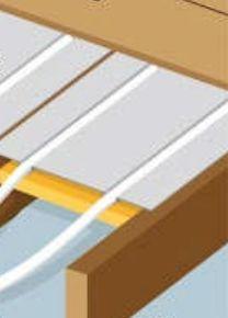 chauffage combles le plancher chauffant sec caleosol et mur chauffant caleomur pour chauffage. Black Bedroom Furniture Sets. Home Design Ideas
