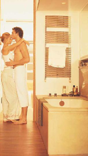 Chauffage salle de bains par chauffage au sol et chauffage - Chauffage de salle de bain ...