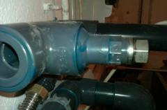Installation d 39 un doigt de gant pour mesurer la Temperature eau piscine municipale